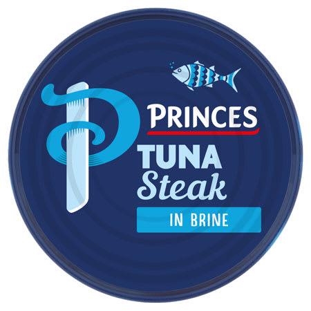 princes tuna steak 160g