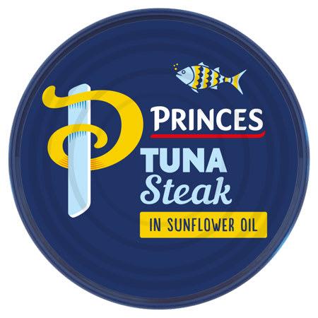princes tuna steak in sunflower oil 160g