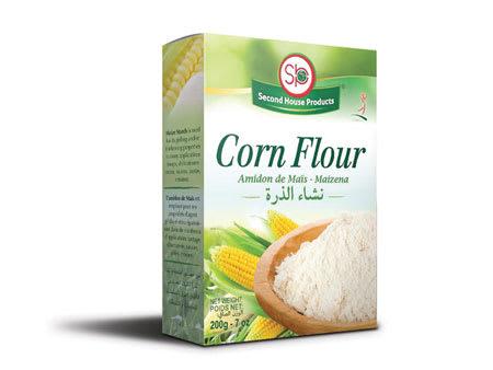 second house corn flour 200g