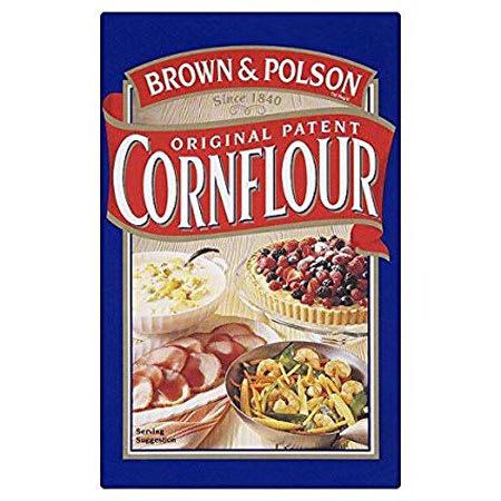 brown & polson corn flour 250g