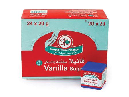 second house vanilla sugar 20g