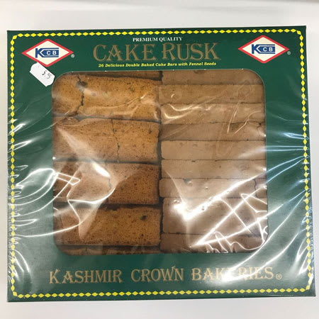kashmir crown bakeries cake rusk with fennel 850g