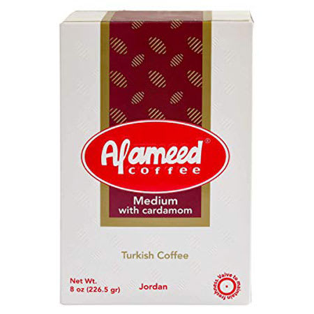 al ameed coffee medium with cardamom 200g