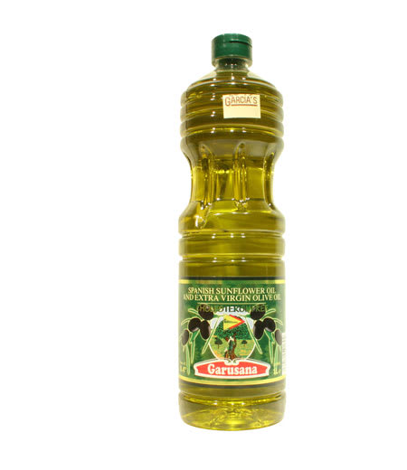 garusana sunflower oil and extra virgin olive oil 1L