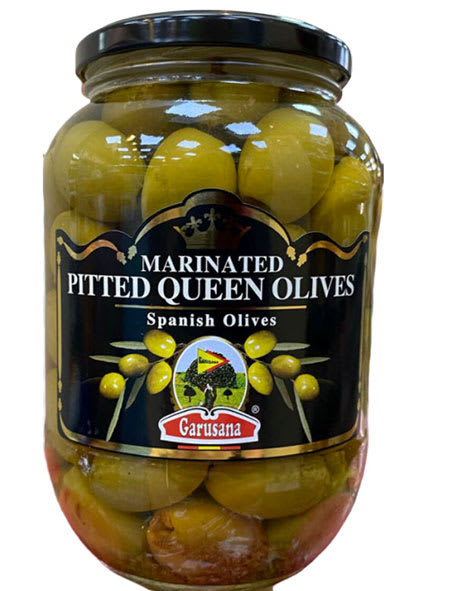 garusana marinated pitted queen olives 400g