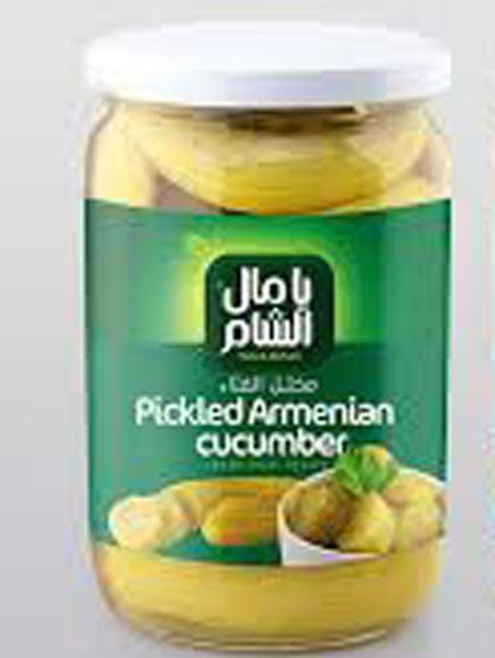 yamal alsham pickles armenian cucumber 400g