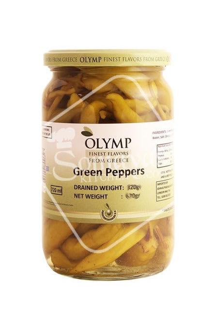 olymp green pepper pickle 320g