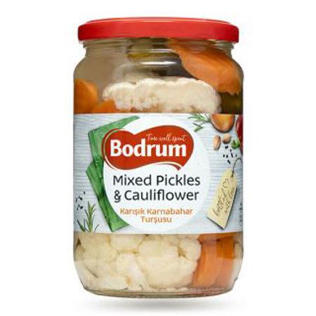 bodrum mix pickles & cauliflower 370g