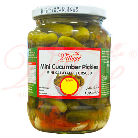 village mini cucumber pickle