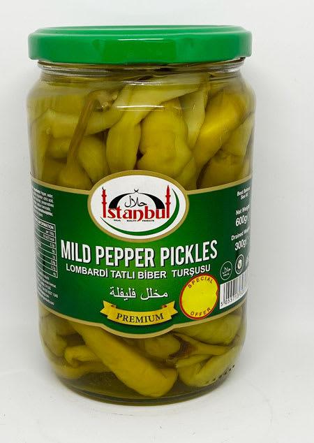istanbul mild pepper pickles 300g
