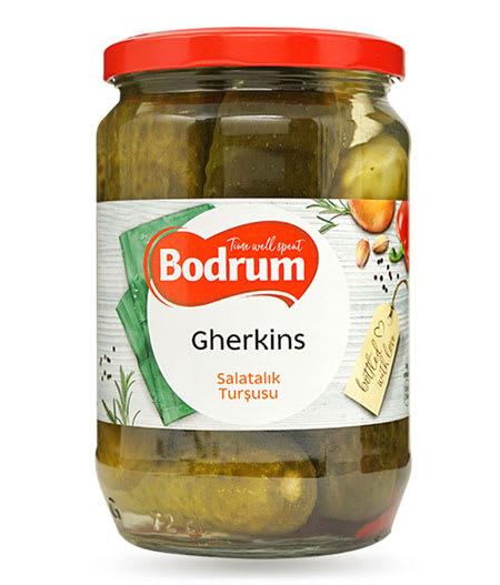 bodrum gherkins pickle 1650g