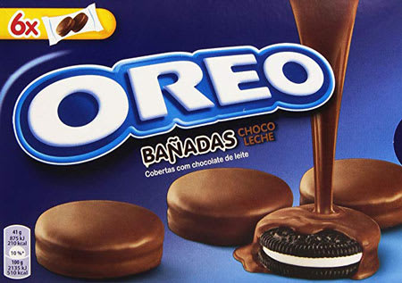 oreo chocolate banadas 246g