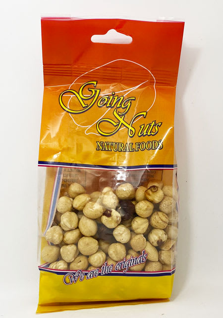going nuts hazelnuts 150g