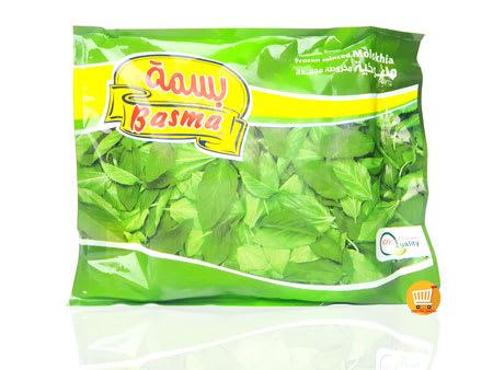 basma frozen minced green molokhia 400g