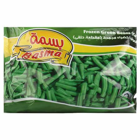 basma frozen green beans cut 400g