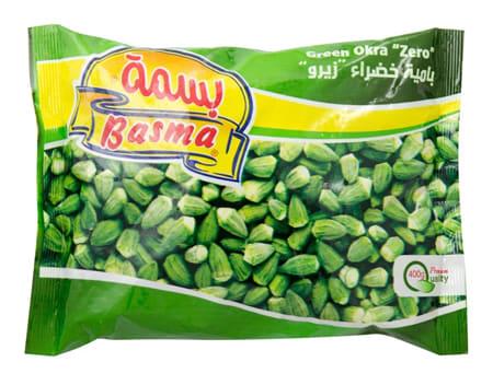 basma frozen green okra zero 400g