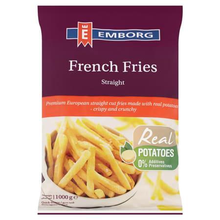 Emborg French Fries 1000G