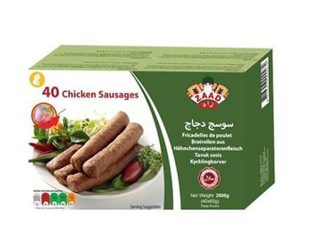Zaad 40 Chicken Sausage halal