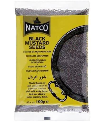 natco black mustard seeds 100g