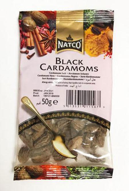 natco black cardamom 50g