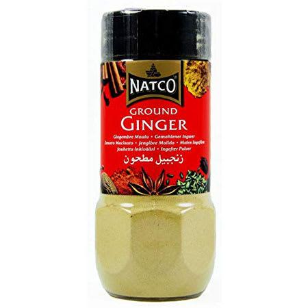 natco ground ginger 70g