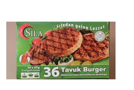Sila Chicken Burger 36 65g