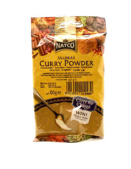 natco curry powder medium 100g