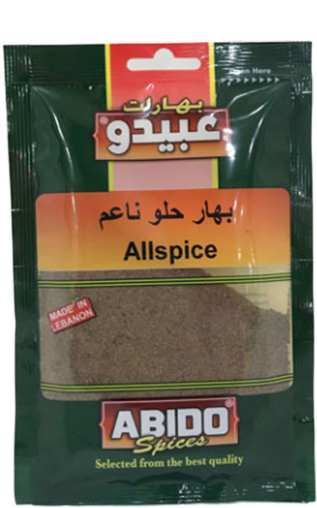 abido spices all spice 50g