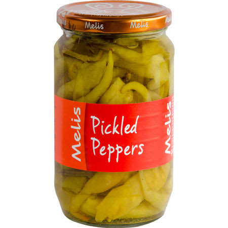 melis pickled peppers 315g