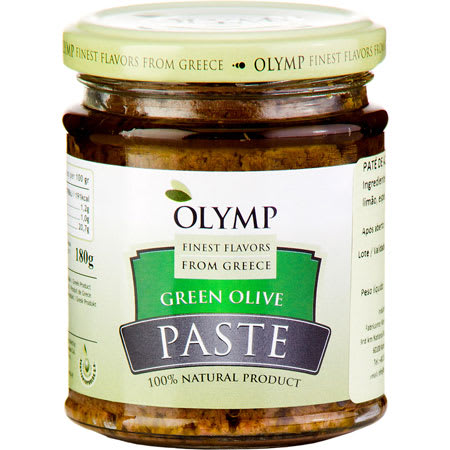 olymp green olives paste 180g