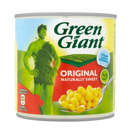 green giant sweet corn 340g