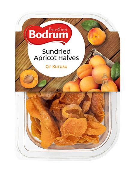 bodrum sundried apricot halves 200g