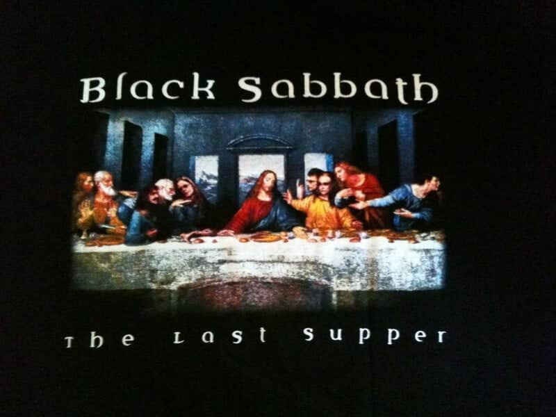 the last supper black sabbath