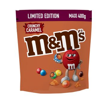 M&M's Crunchy Caramel Limited Edition 400g