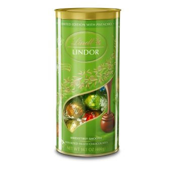 Lindt Lindor Tube Assorted With Pistachio