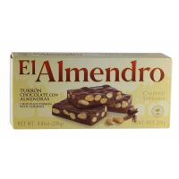 El Almendro Chocolate Nougat With Almonds