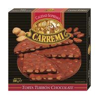 Torta de Turrón de Chocolate