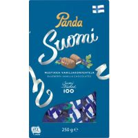 Panda Suomi Blueberry-Vanilla Milk Chocolates
