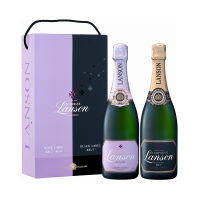 Lanson Black Label / Rose Label Twin Pack
