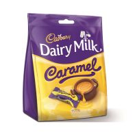 Dairy Milk Caramel Chunks Bag