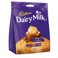 Dairy Milk Whole Nut Chunks Bag