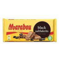 Black Saltlakrits Chocolate