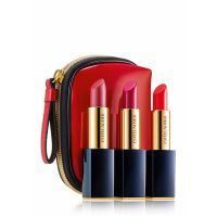 Pure Color Envy Sculpting Lipsticks Trio Set with Red Bag