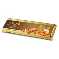 Lindt Gold Milk Chocolate with Caramel and Whole Hazelnuts