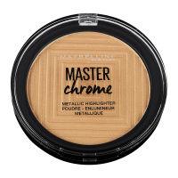 Facestudio Master Chrome Metallic Highlighter Makeup 100 Molten Golden