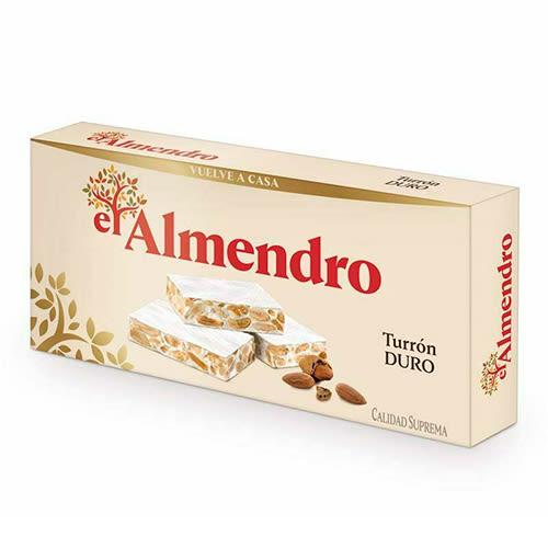 El Almendro Crunchy Almond Turron/Nougat