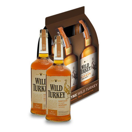 Wild Turkey 86.8 Proof Pack