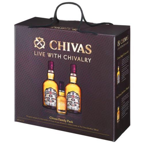 Chivas Regal 12 YO Whisky Duo