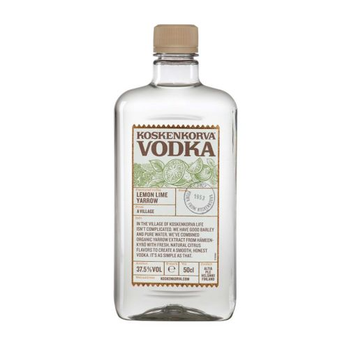 Koskenkorva Lemon Lime Yarrow Vodka