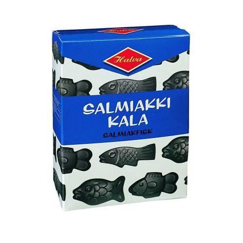 Salmiakkikala Salty Liquorice Fishes